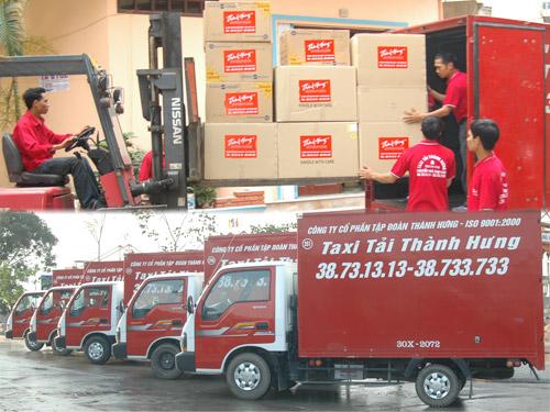 Xe tải chở hàng - Taxi tải Thành Hưng