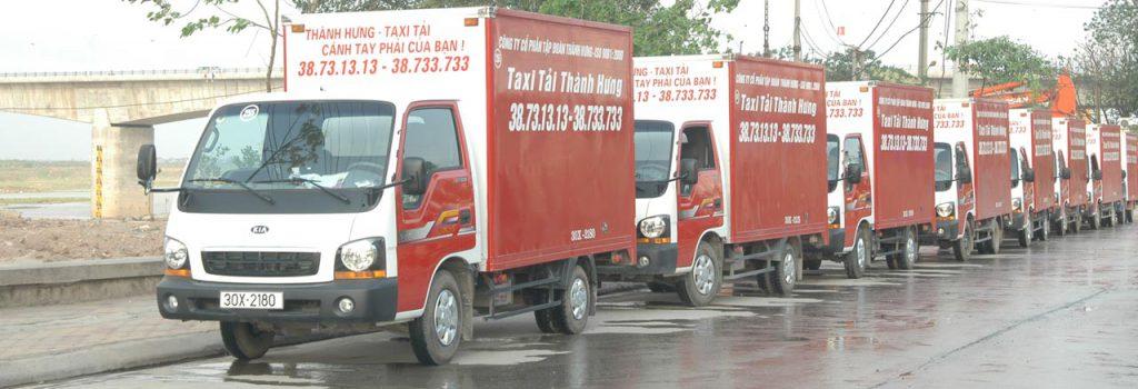 dịch vụ xe tải thành hưng