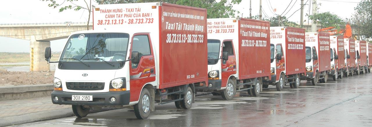 dịch vụ xe tải chuyển nhà thành hưng