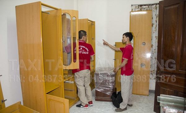 Vận chuyển tủ quần áo an toàn nhờ xe tải thùng kín