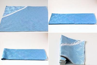gấp khăn ăn