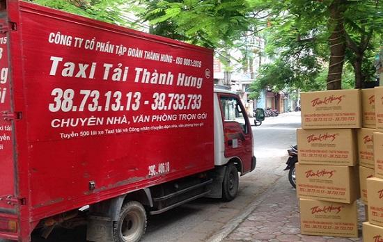 sử dụng dịch vụ chuyển nhà