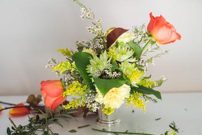 hoa cho tiệc cưới