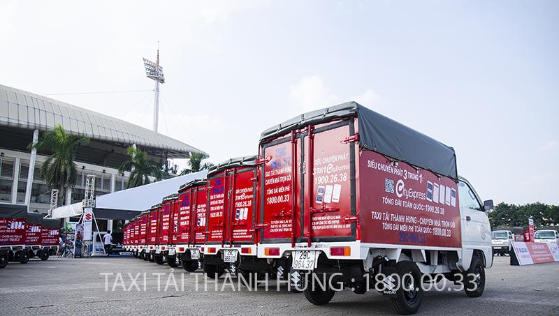 taxi tải Thành Hưng Taxi tải Thành Hưng đầu tư mạnh mẽ – Ra mắt dịch vụ mới