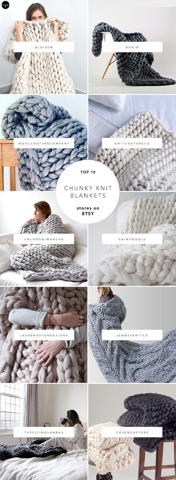 mẫu chăn len ấm áp