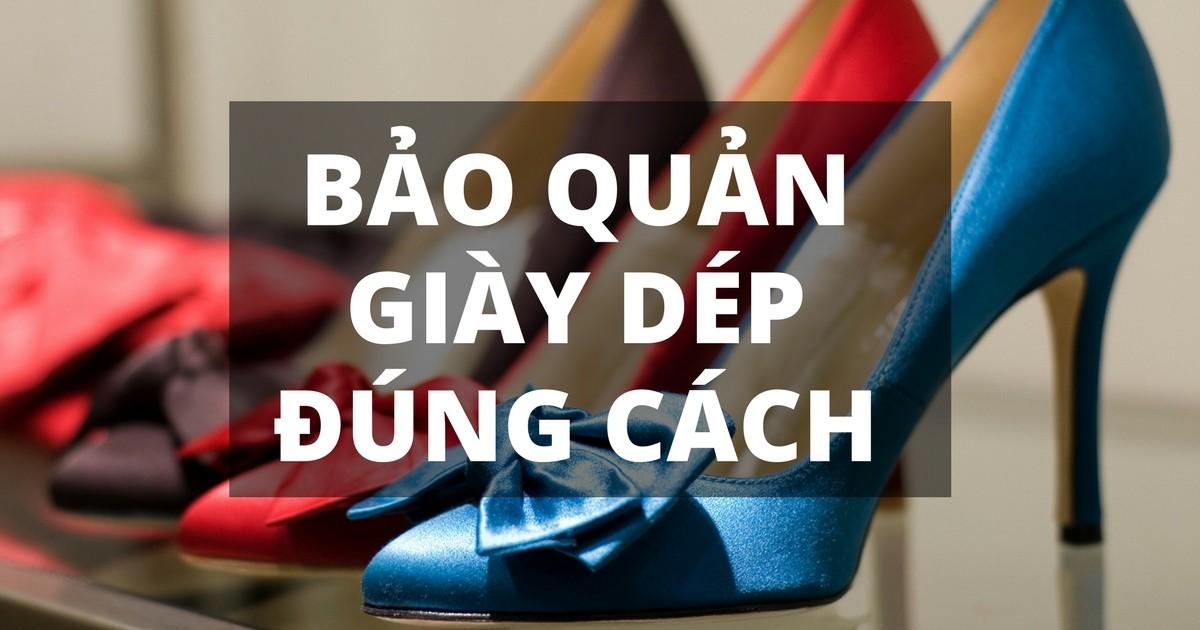 bảo quản giày dép