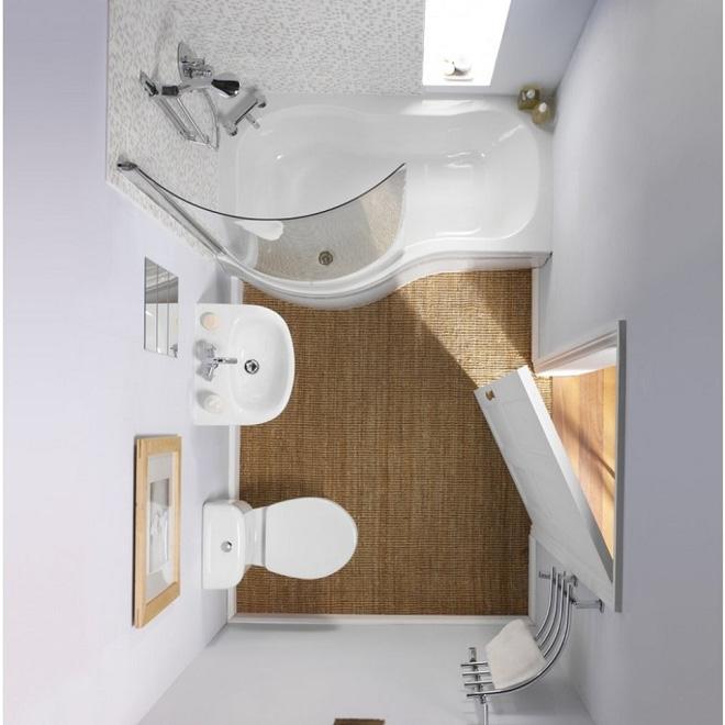 phòng tắm nhỏ