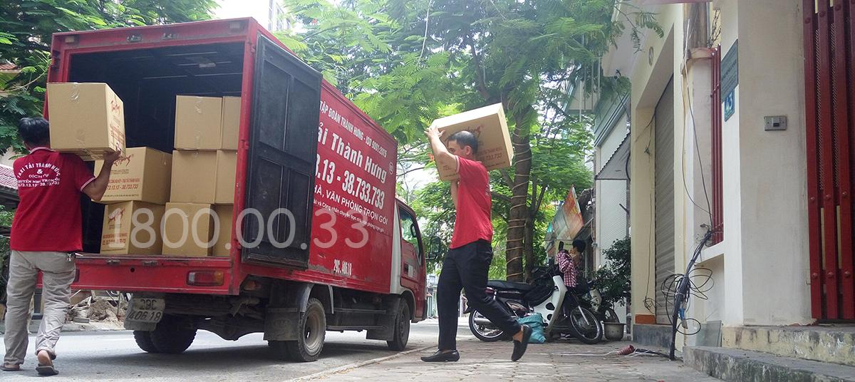 Chuyển dọn đồ taxi tải Thành Hưng