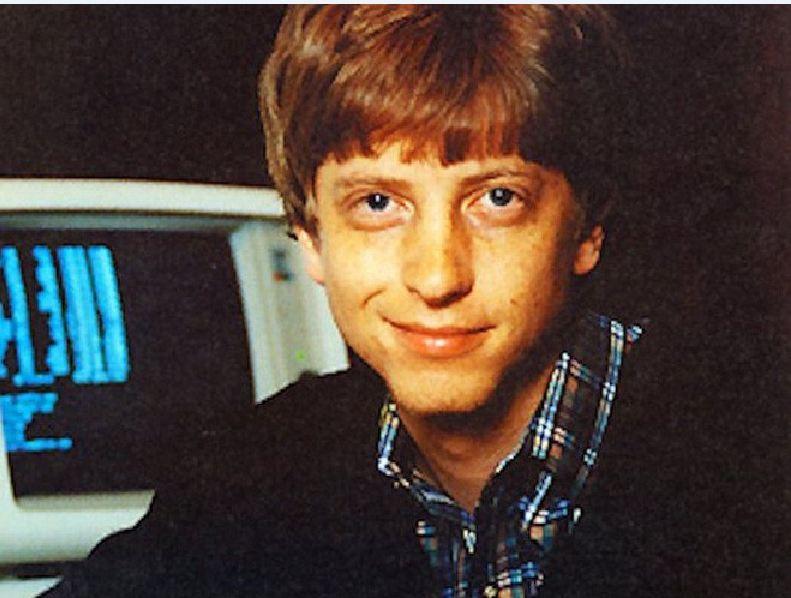 Bill Gates khởi đầu sự nghiệp từ rất sớm