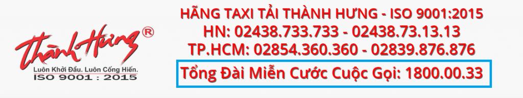 Số điện thoại tổng đài Thành Hưng