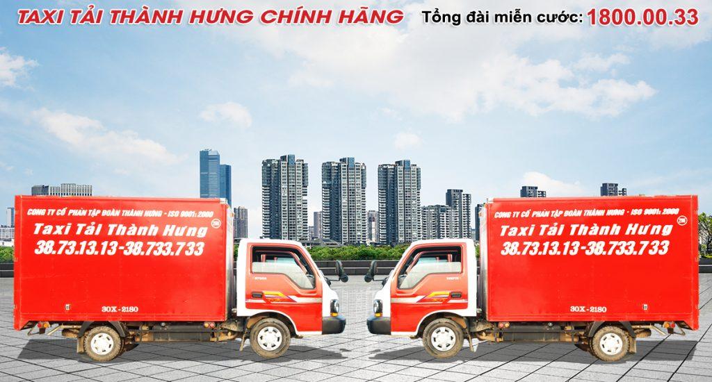 Thuê xe tải chở hàng tại hà nội -Thành Hưng