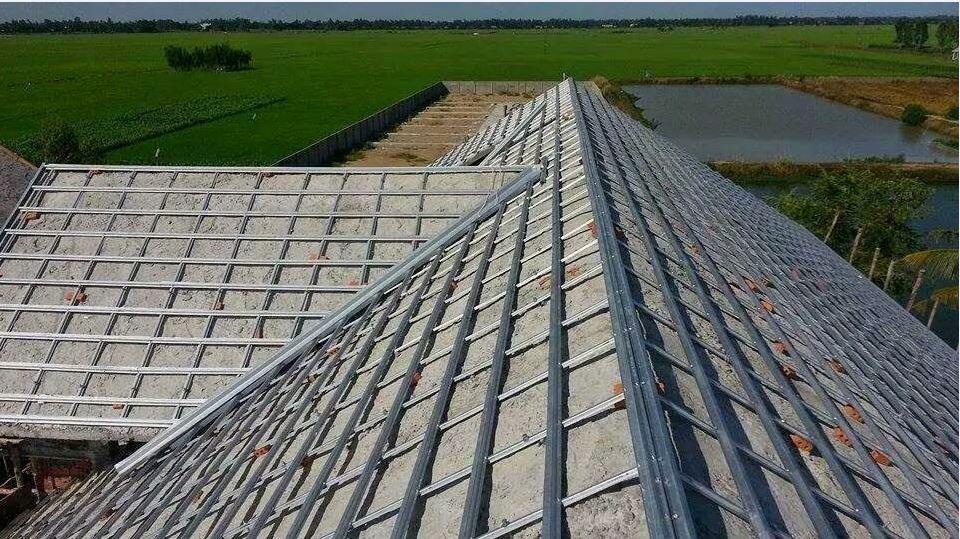 Bê tông được lựa chọn để làm vật liệu cho mái nhà trở nên phổ biển trong những năm gần đây vì có độ bền cao
