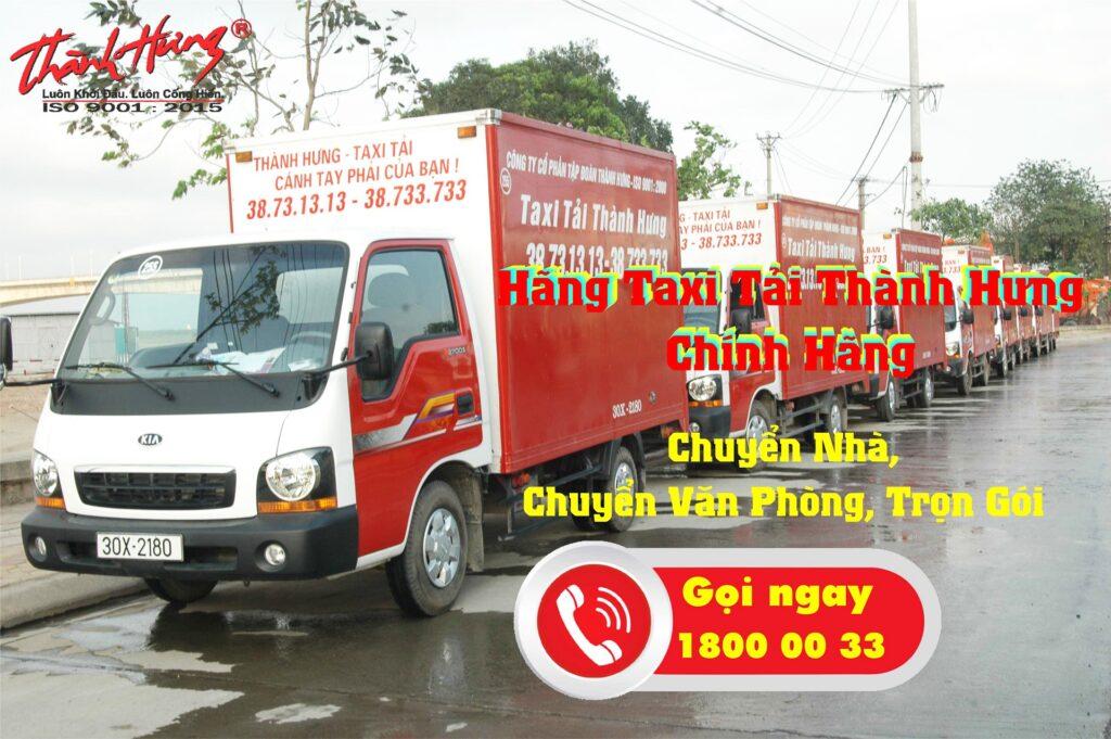 Chuyển nhà mới với dịch vụ chuyển nhà của Taxi tải Thành Hưng