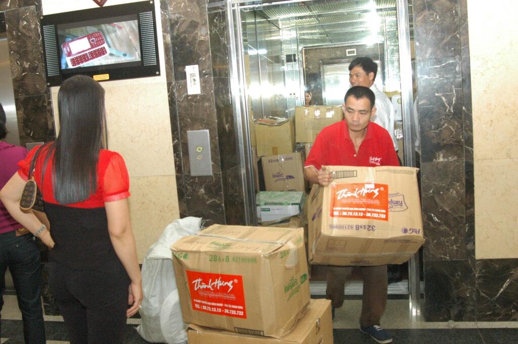 Dịch vụ chuyển nhà trọn gói Thành Hưng TP Hồ Chí Minh