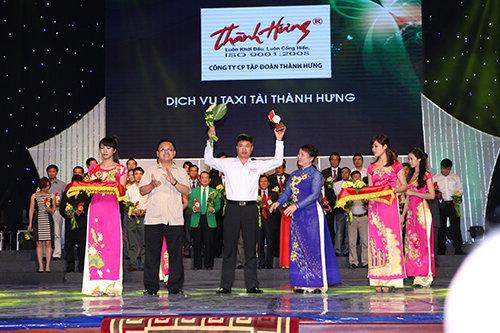 Taxi tải Thành Hưng nhận giải Sản phẩm dịch vụ VN được tin dùng