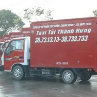 Đoàn xe Taxi tải chuyển nhà văn phòng thương hiệu Thành Hưng